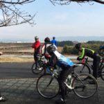 初の淀川サイクリングロード。2017年最初のBLAST練(ブラスト)
