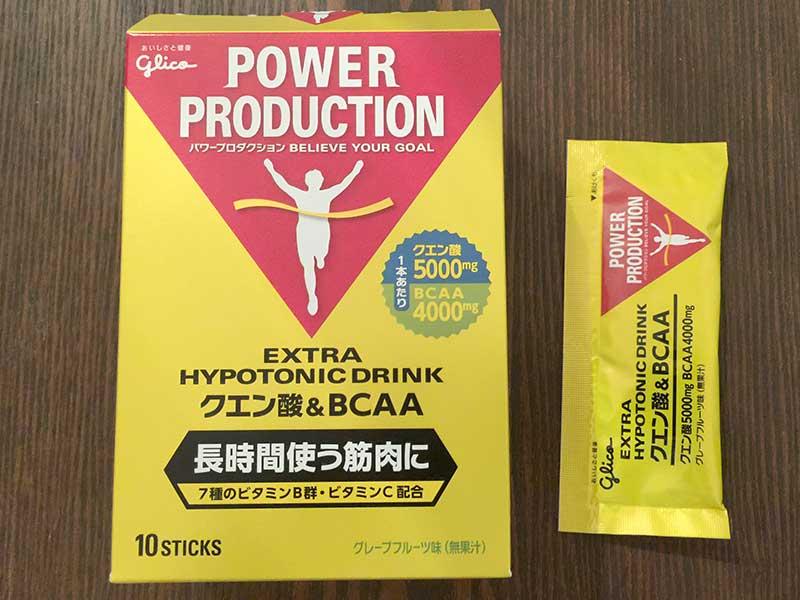 グリコパワープロダクションクエン酸酸&BCAA