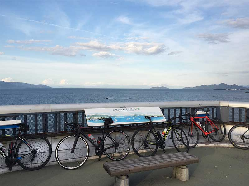 琵琶湖大橋 ビワイチ