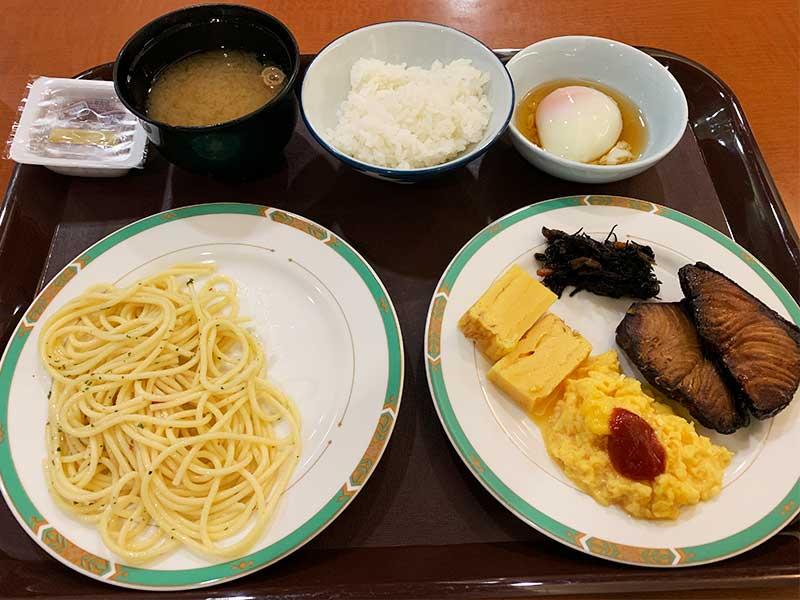エバーグリーン富士 朝食