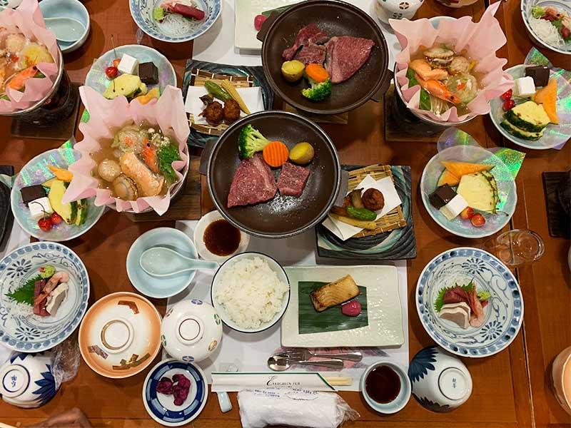 エバーグリーン富士 夕食