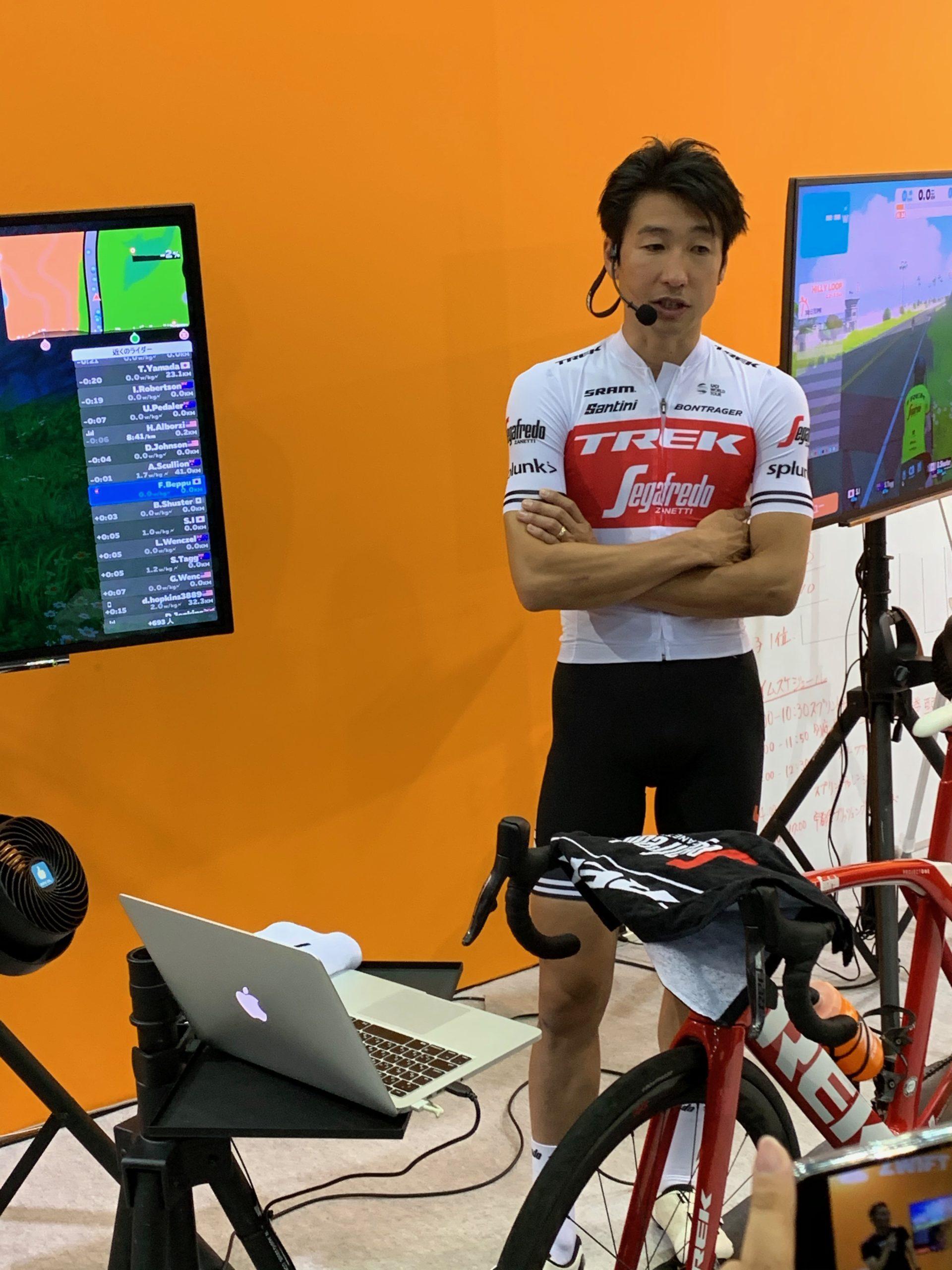 東京サイクルモード 別府史之選手